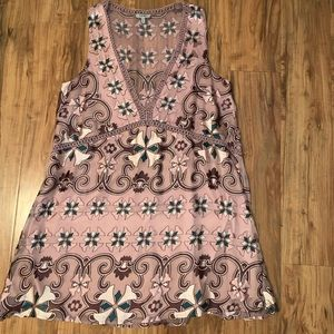 Tobi Printed Dress